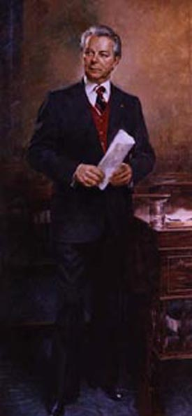 Portrait of Senator Robert C. Byrd of West Virginia