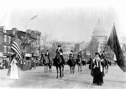 Photo of Suffrage March