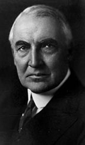 Photo of Warren Harding