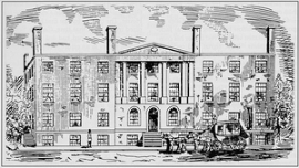Drawing of Blodgett's Hotel