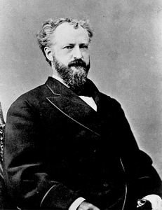 Photo of Senator Roscoe Conkling of New York