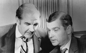 Senators Geroge McGovern and Mark Hatfield