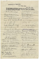 Petition of citizens of Mount Vernon, Washington, in favor of woman suffrage, 1913