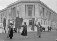 Suffragists Picketing at the Senate Office Building, 1918