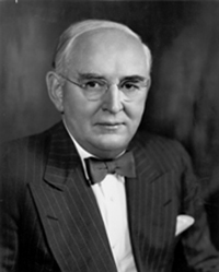 Photo of Senator Arthur Vandenberg