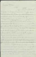 Page 1 of Clara Barton's Second Letter to Henry Wilson on Jan 18, 1863