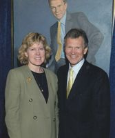 Diane Skvarla with Thomas A. Daschle (D-SD)