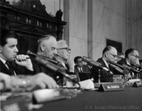 Foreign Relations Committee hearing, ca. 1960s