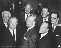Group of Senators Pose for Photo, 1964