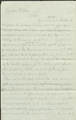 Clara Barton's Second Letter to Henry Wilson, Jan 18, 1863