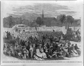 Celebration of the abolition of slavery in the District of Columbia by colored people, in Washington, April 19, 1866