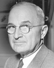 Photo of Senator Harry Truman of Missouri, later U.S. President