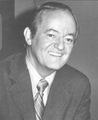Photo of Senator Hubert H. Humphrey of Minnesota