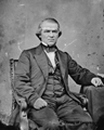 Senator Andrew Johnson member of the Joint Committee on the Conduct of War.