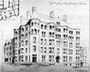 Drawing of Maltby Building in Washington D.C.