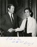 Image: Scott McGeary with Senator Ted Kennedy, 1970