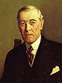 Portrait of President Woodrow Wilson