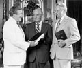 Photo: Floyd Riddick, Howard Baker, and Robert Byrd