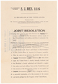 S.J.Res. 119: Declaration of War with Germany, WWII