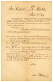 War of 1812: Senate Amendments