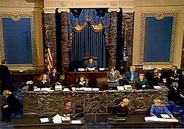 us senate women open senate proceedings