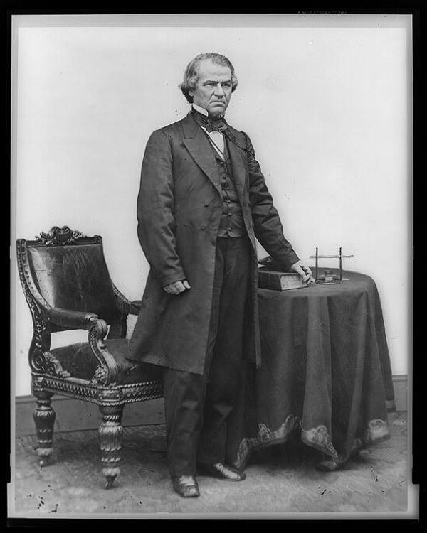 Photo of Andrew Johnson of Tennessee