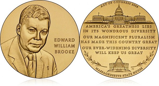 Edward Brooke Congressional Gold Medal