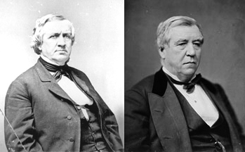 Senators John P. Hale and John W. Stevenson