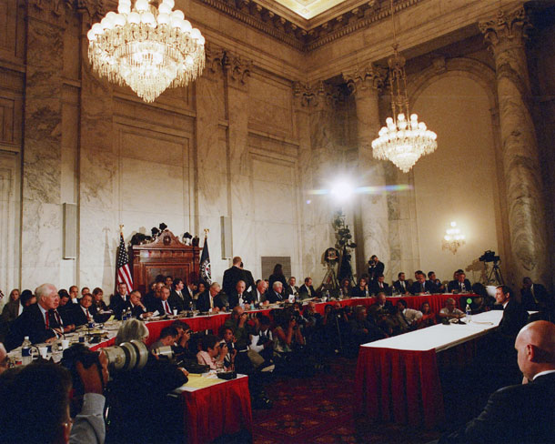 Senate Judiciary Committee, John Roberts confirmation hearing, Caucus Room, 2005