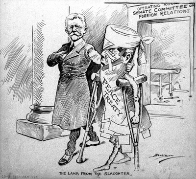 Treaty of Versailles Cartoon