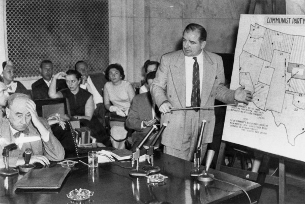 Welch-McCarthy hearings, 1954