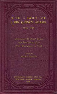 book jacket for The Diary of John Quincy Adams, 1794-1845