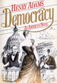 The cover of the book Democracy by Henry Adams