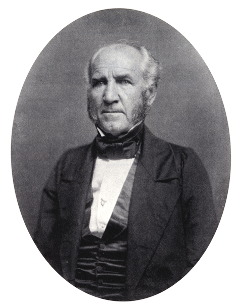 A portrait of Sam Houston