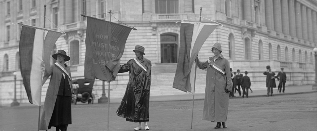 1918 Suffrage Protest
