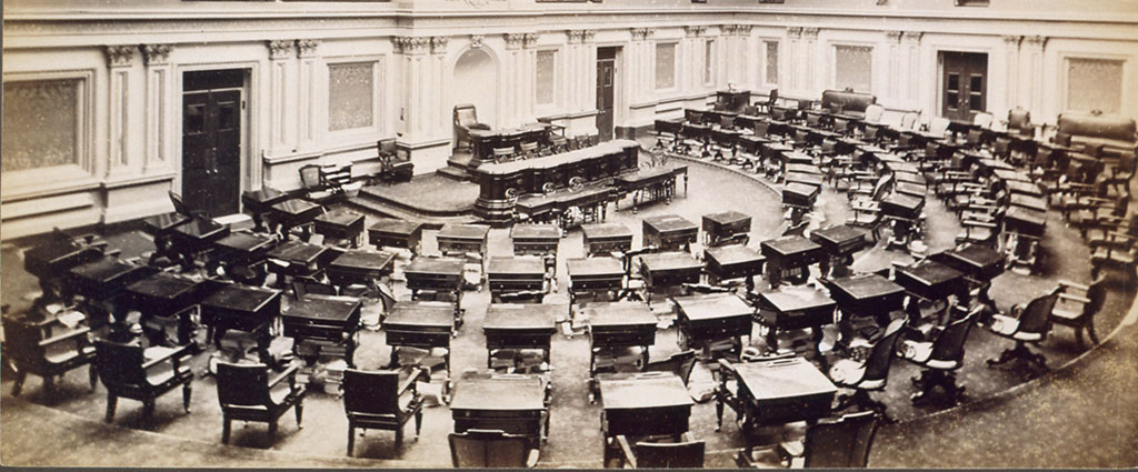 Senate Chamber Desks