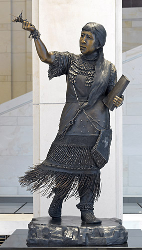 Statue of Sarah Winnemucca, National Statuary Hall Collection