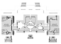 Floorplan of the Capitol