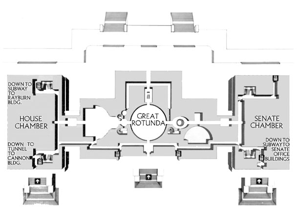 Us Capital Building Map U.S. Senate: United States Capitol Floor Plan