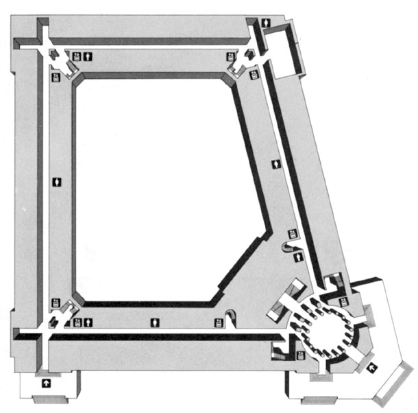 U.S. Senate: Russell Senate Office Building floor plan